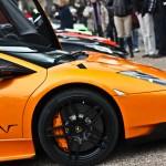Lamborghini rijtje.